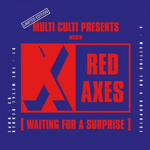 Red Axes - Waiting For A Surprise [MC016]